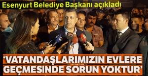 """Başkan Bozkurt:"""" Vatandaşlarımızın evlerine geçmesinde bir sakınca yok"""""""