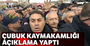 Çubuk Kaymakamlığından Kılıçdaroğlu'na saldırı ile ilgili açıklama
