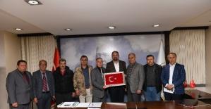 STK'lardan Başkan Gümrükçü'ye ziyaret