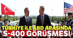 Türkiye ile ABD arasında S-400 görüşmesi