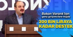 Bakan Varank'tan genç girişimcilere müjde!