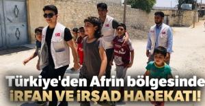 Türkiye'den Afrin bölgesinde irfan ve irşad harekatı