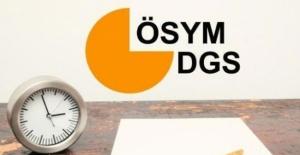 2019-DGS sonuçları açıklandı