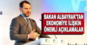 Bakan Albayrak'tan ekonomiye ilişkin önemli açıklamalar