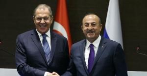 Çavuşoğlu, Rusya Dışişleri Bakanı ile görüştü