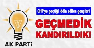 CHP'ye geçtiği iddia edilen gençler: Geçmedik, kandırıldık!