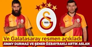 Galatasaray, Jimmy Durmaz ve Şener Özbayraklı'yı kadrosuna kattı