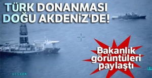 Türk Donanması Doğu Akdeniz#039;de
