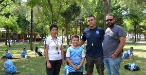 Yunusemre'de atletizm yaz kursu ilgi görüyor