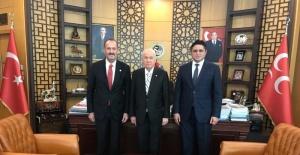 Başkan Serkan Acar'dan Bahçeli'ye bayram ziyareti