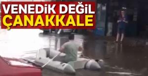 Çanakkale#039;ye yağmur yağdı,...