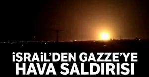 İsrail#039;den Gazze#039;ye hava...
