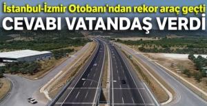 İstanbul-İzmir Otobanı#039;ndan...