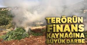 Terörün finans kaynağına büyük darbe