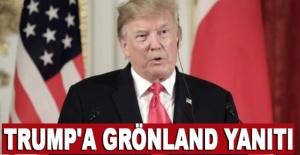 Trump'a Grönland yanıtı