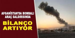 Afganistan#039;da bombalı araç saldırısında...