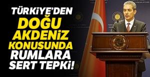 Türkiye'den Rumlara sert tepki!