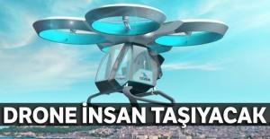 Drone insan taşıyacak