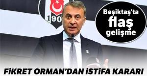 Fikret Orman: 'Beşiktaş'taki sürecimi tamamlıyorum'