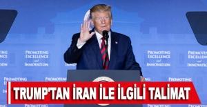 Trump'tan İran ile ilgili talimat