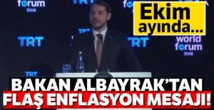 Bakan Albayrak'tan flaş Enflasyon mesajı!