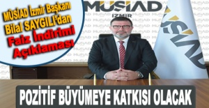 MÜSİAD İzmir Başkanı Bilal SAYGILI'dan Faiz İndirimi Açıklaması