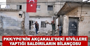 PKK/YPG'nin Akçakale'deki sivillere yaptığı saldırıların bilançosu