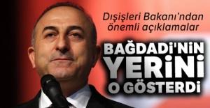 Bakan Çavuşoğlu: 'Bağdadi'nin yerini o gösterdi'
