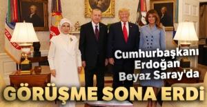 Cumhurbaşkanı Erdoğan Beyaz Saray'da