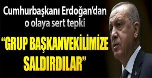 Cumhurbaşkanı Erdoğan'dan o sözlere çok sert tepki
