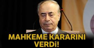 Mahkeme Galatasaray ile ilgili kararını...