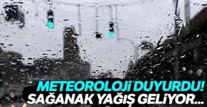 Meteoroloji duyurdu! Sağanak yağış geliyor...