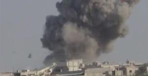 Rus uçaklarından İdlib'e hava saldırısı: 5 ölü, 8 yaralı