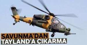 'Savunma'dan Tayland'a çıkarma