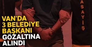 3 belediye başkanı gözaltına alındı