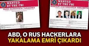 ABD, Rus hackerlara karşı savaş...