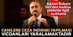 Adalet Bakanı Gül: 'Canilere ceza indirimi yapılması vicdanları yaralamaktadır'