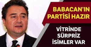 Babacan'ın Partisi hazır
