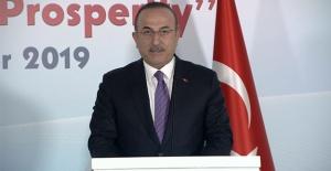 Bakan Çavuşoğlu'ndan sert 'terörizm' açıklaması