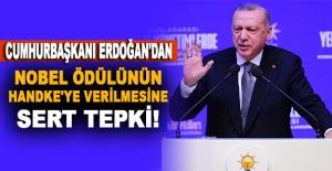 Cumhurbaşkanı Erdoğan'dan Nobel ödülünün Handke'ye verilmesine sert tepki!