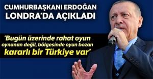 Cumhurbaşkanı Erdoğan: 'Bugün 17 yıl öncesine göre daha güçlü bir Türkiye var'