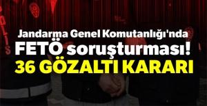 FETÖ soruşturmasında 36 gözaltı kararı