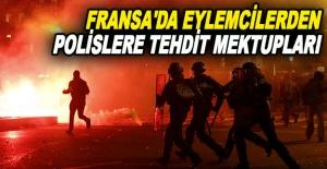 Fransa#039;da eylemcilerden polislere...