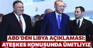 ABD'den Libya açıklaması