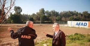 AK Partili Savaş, AFAD İl Müdürü Harman'ı ziyaret etti