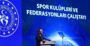 Bakan Kasapoğlu: Spor Kulüpleri ve Federasyonları Yasası meclis gündemine geliyor