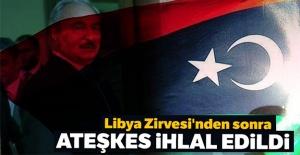 Libya Zirvesi#039;nden sonra ateşkes...