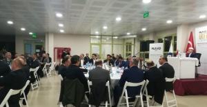 MÜSİAD İzmir Şubesinden İrfan Sohbeti toplantısı