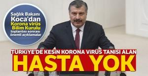Sağlık Bakanı Fahrettin Koca'dan korona virüs açıklaması