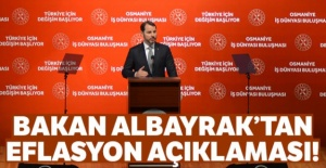 Bakan Albayrak'tan enflasyon açıklaması